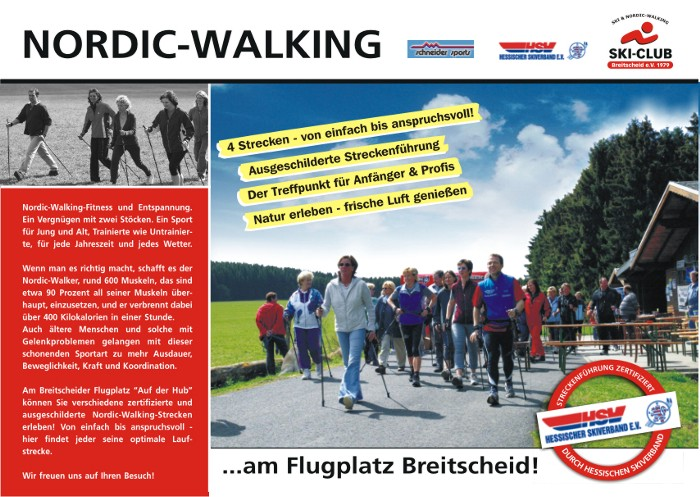 Nordic-Walking in Breitscheid