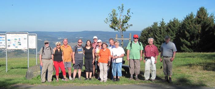 Wanderung in Hirzenhain am 09.09.2012